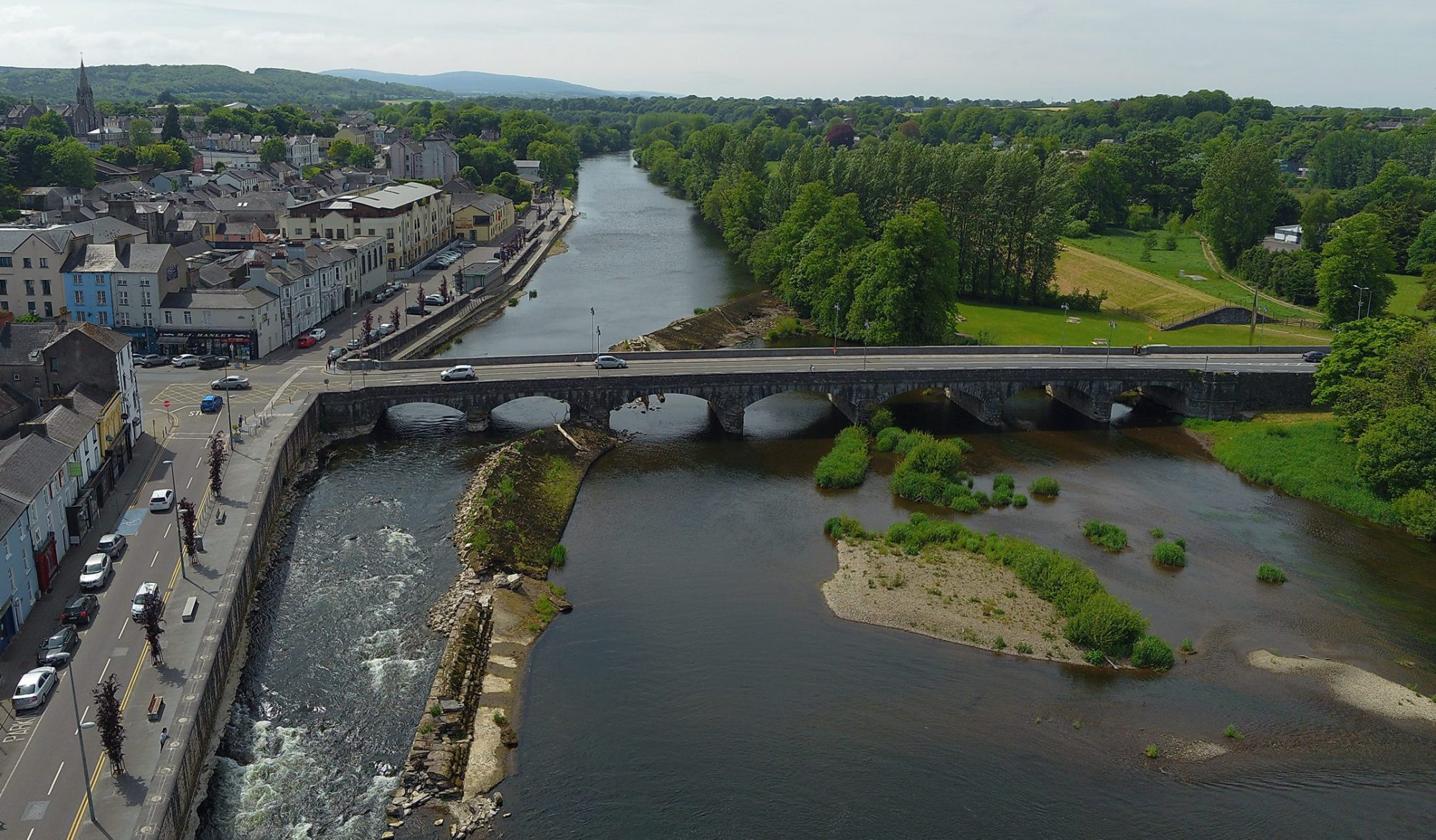 Fermoy Weir and Fish Bypass Channel